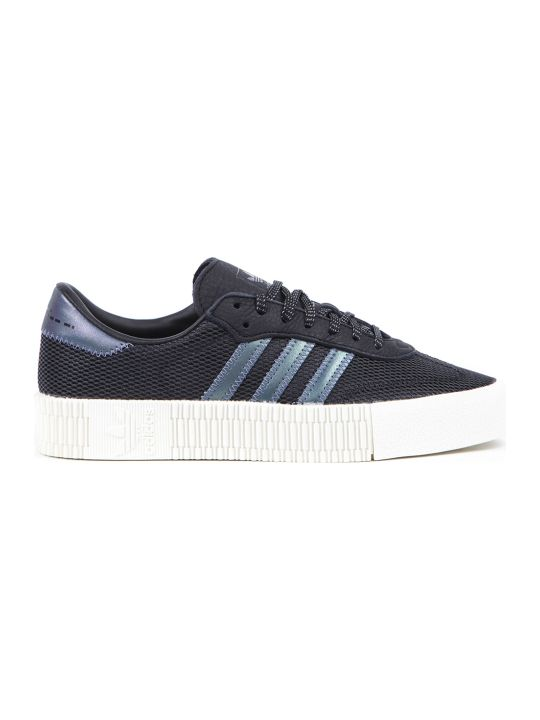 Adidas Originals Sambarose Black Nylon Sneakers
