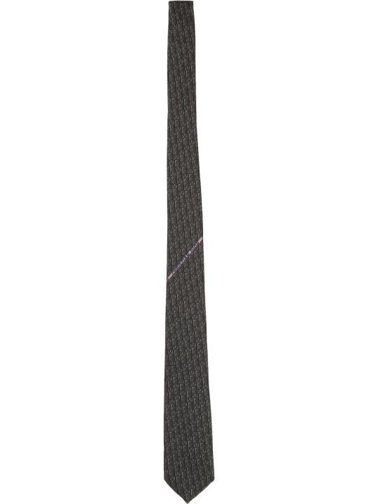 Dior Logo Print Tie