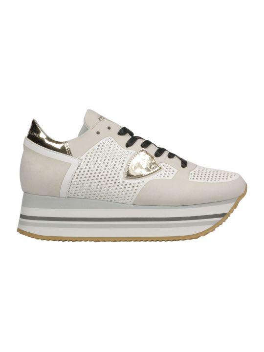Philippe Model Technique Studs Platform Sneakers