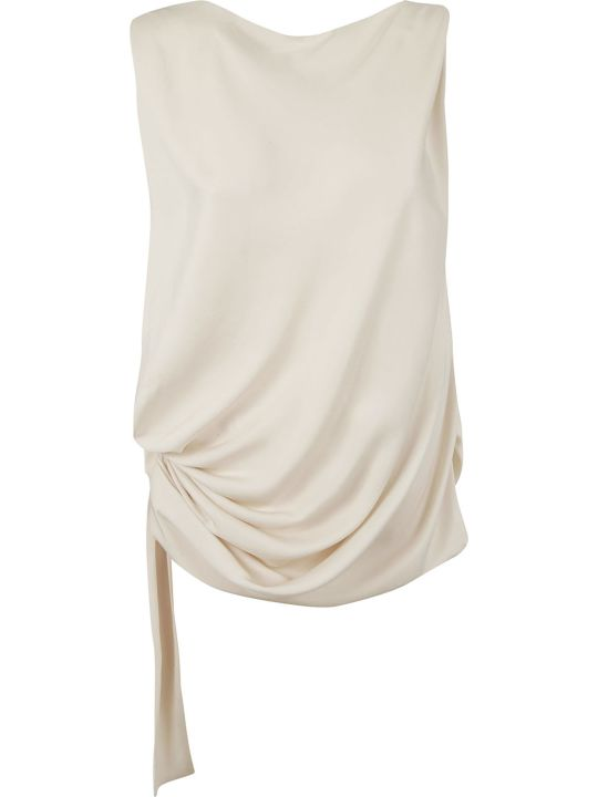 Tom Ford Side Tie Gathered Blouse