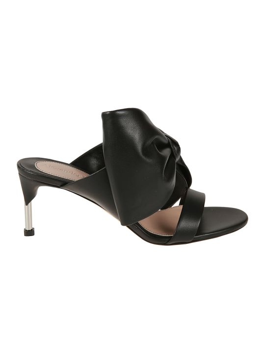 Alexander McQueen Bow Detailed Mules