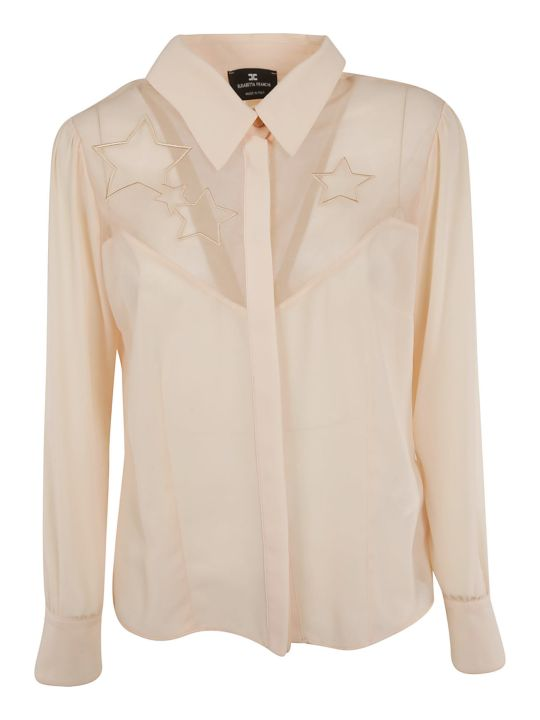 Elisabetta Franchi Celyn B. Elisabetta Franchi For Celyn B. Star Embroidery Shirt