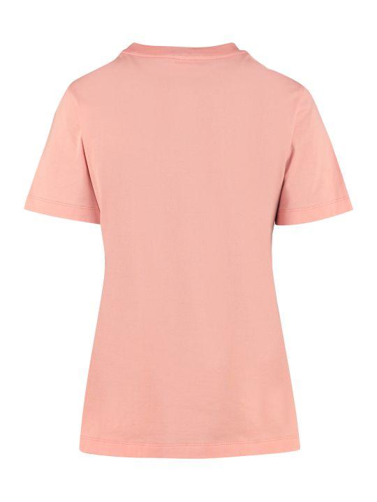 Salvatore Ferragamo Crew-neck Cotton T-shirt