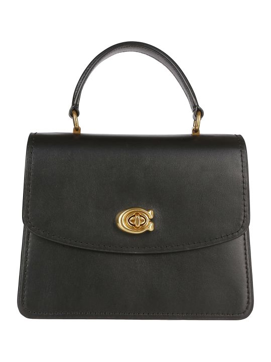 Coach Twist Lock Shoulder Bag
