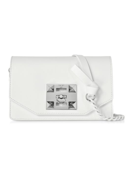 Salar Kio Chain Leather Shoulder Bag