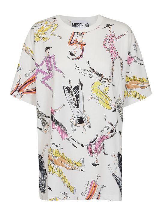 Moschino Fashion Sketches T-shirt