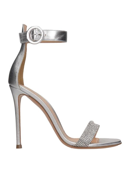 Lerre Sandals In Silver Leather