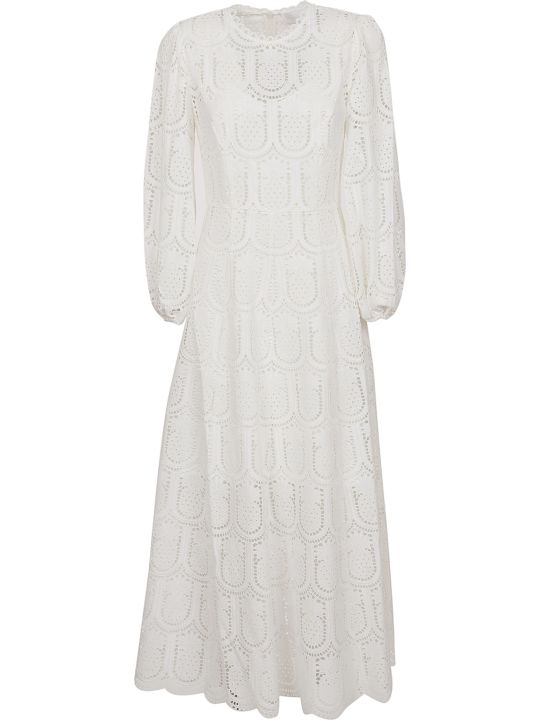 Zimmermann Wayfarer Embroidered Dress