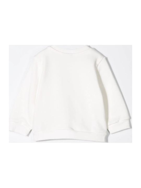 Fendi Textured Logo Sweatshirt