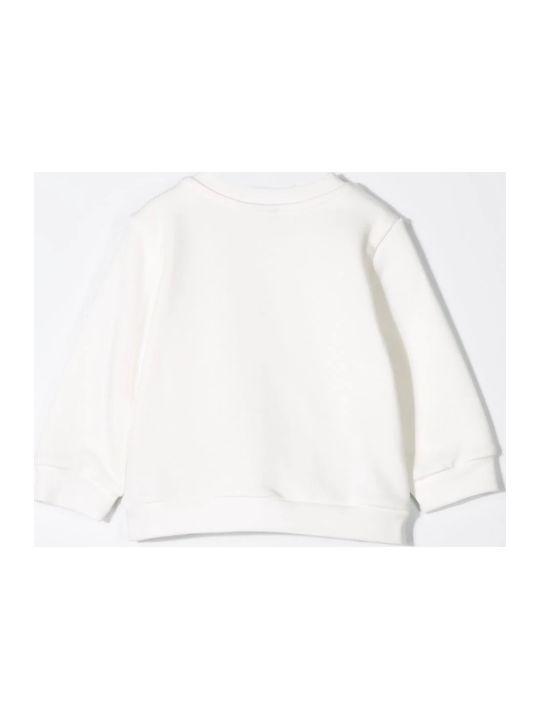 Fendi Textured Logo Sweatshirt