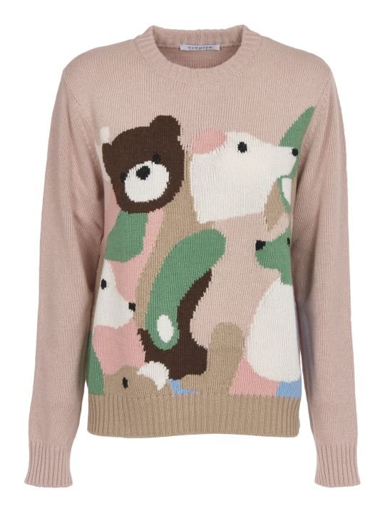Vivetta Animal Jacquard Sweater