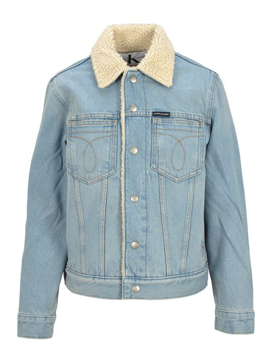 Calvin Klein Jeans Teddy Denim Jacket