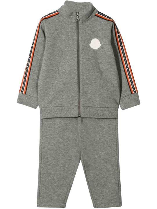 Moncler Gray Sport Tracksuit