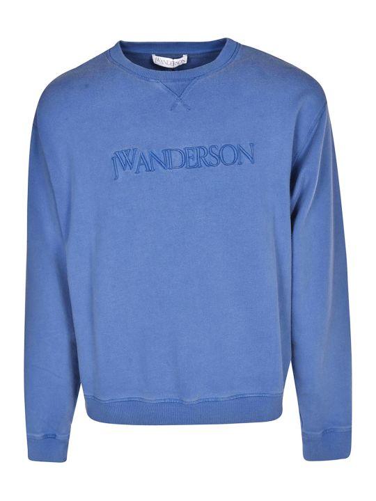 J.W. Anderson Jw Anderson Logo Embroidered Sweatshirt
