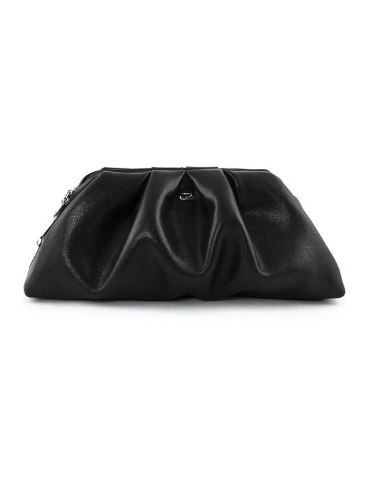 Giuseppe Zanotti Black Tomato Clutch Bag