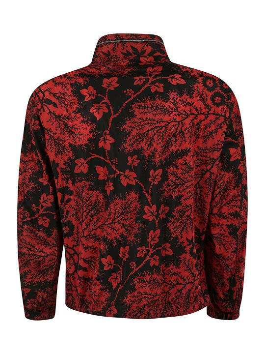 Alexander McQueen Floral All-over Zipped Hoodie