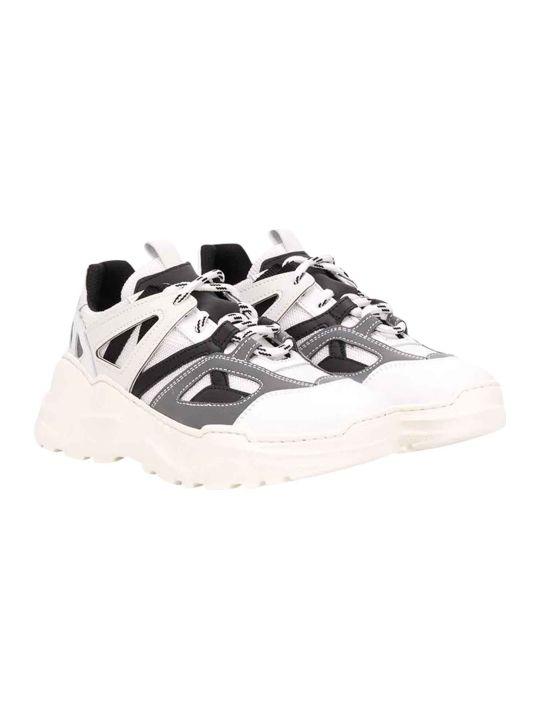 Araia Kids Teen White Sneakers