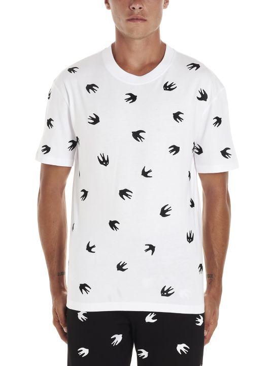 McQ Alexander McQueen 'swallow' T-shirt
