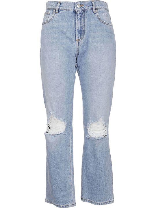 MSGM Distressed Jeans