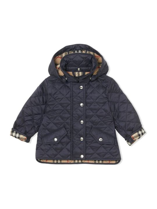Burberry Blue Newborn Jacket