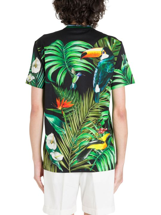 Dolce & Gabbana Jungle Printed T-shirt