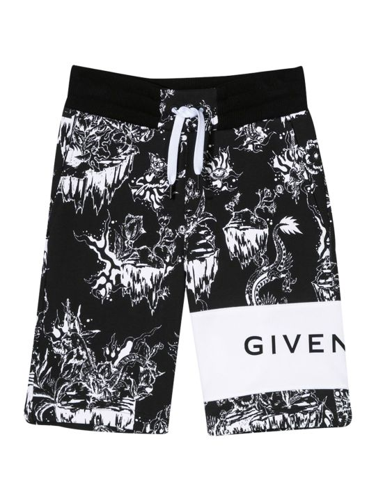 Givenchy Kids Floral Shorts