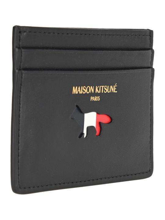 Maison Kitsuné Maison Kitsune Tricolor Fox Cardholder