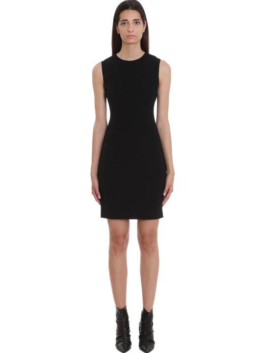 Theory Dress In Black Viscose