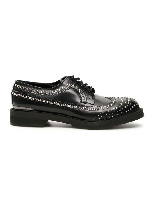 Alexander McQueen Studded Derby Lace-ups