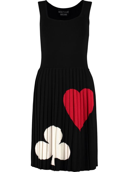 Boutique Moschino Intarsia Knit-dress