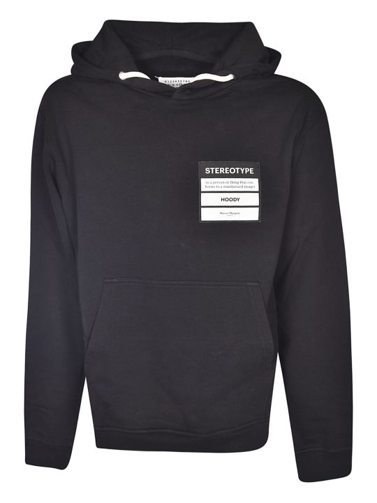 Maison Margiela Oversized Stereotype Patched Hoodie
