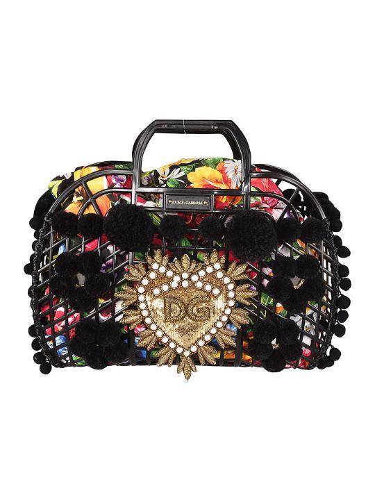 Dolce & Gabbana Pom Pom Tote
