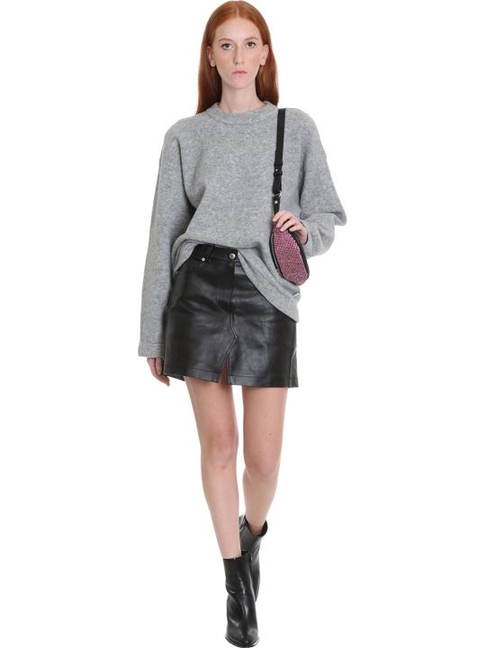T by Alexander Wang Knitwear In Grey Wool