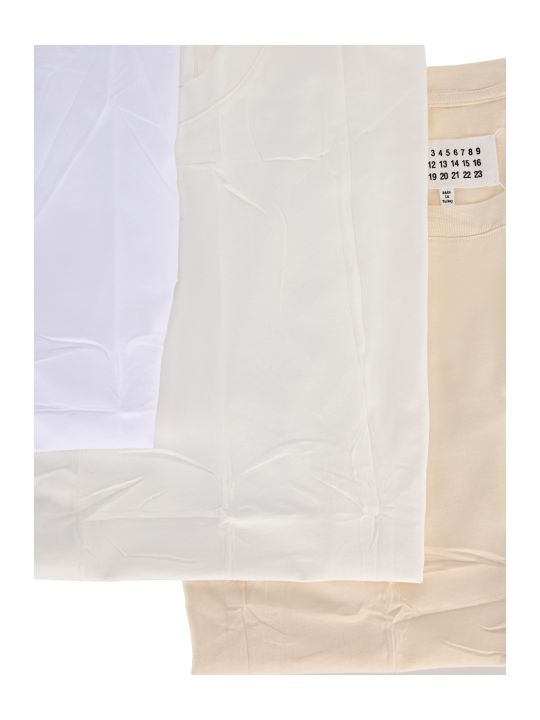 Maison Margiela Martin Margiela 3-pack Classic Short-sleeve T-shirt