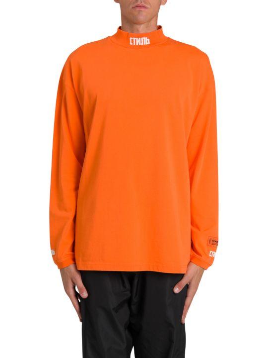 HERON PRESTON Embroidered Long Sleeves T-shirt