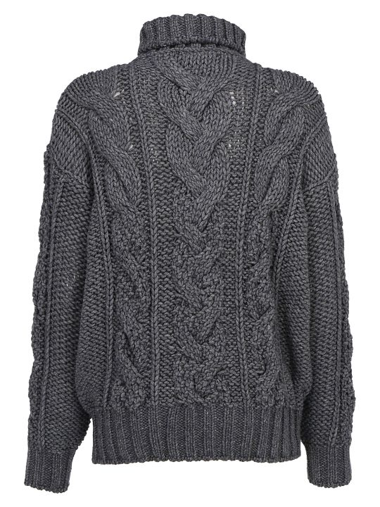 Ermanno Scervino Turtleneck Sweater
