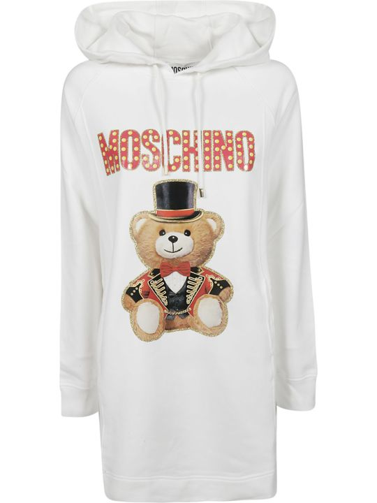 Moschino Teddy Circus Hoodie Dress