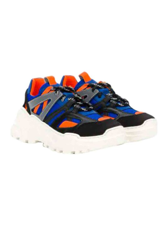 Araia Kids Sneakers With Contrast Panels