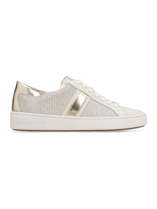 MICHAEL Michael Kors Keaton Stripe Embellished Slip-on Sneakers