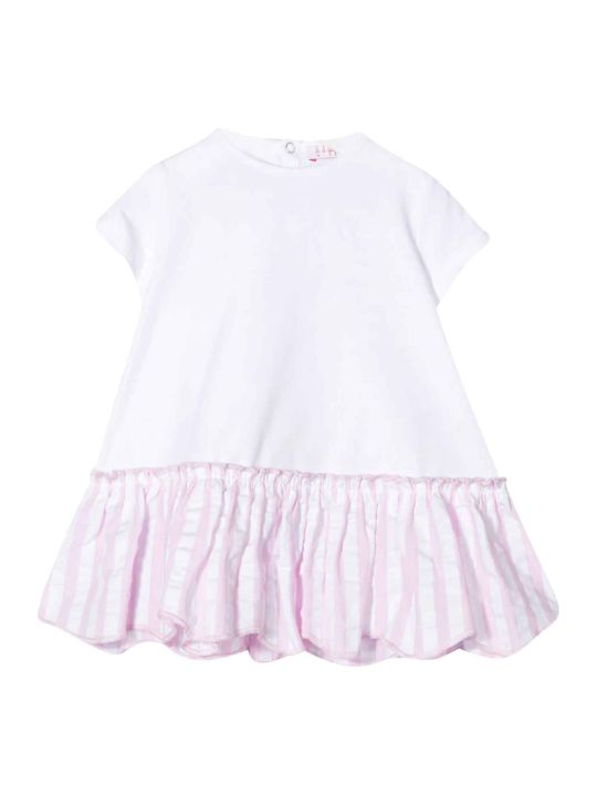 Il Gufo White Dress Kids