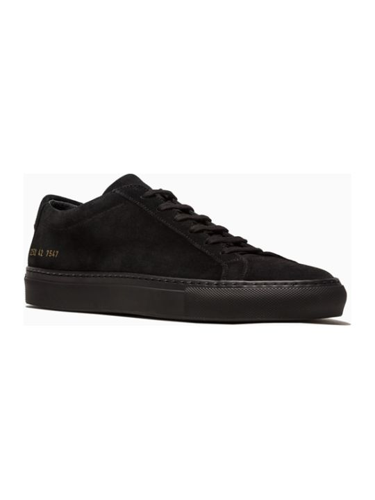 Common Projects Original Achilles Low Suede Sneakers 2252