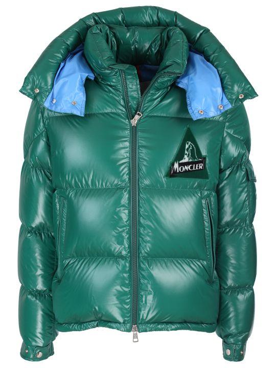 Moncler nylon laqué jacket