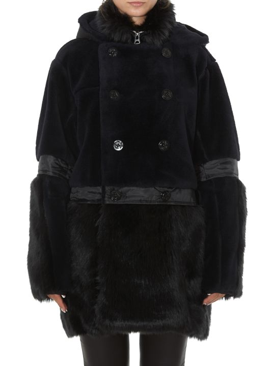 Sacai Faux Fur Coat