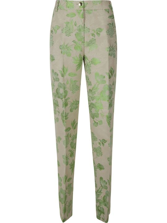 Blumarine Floral Print Trousers