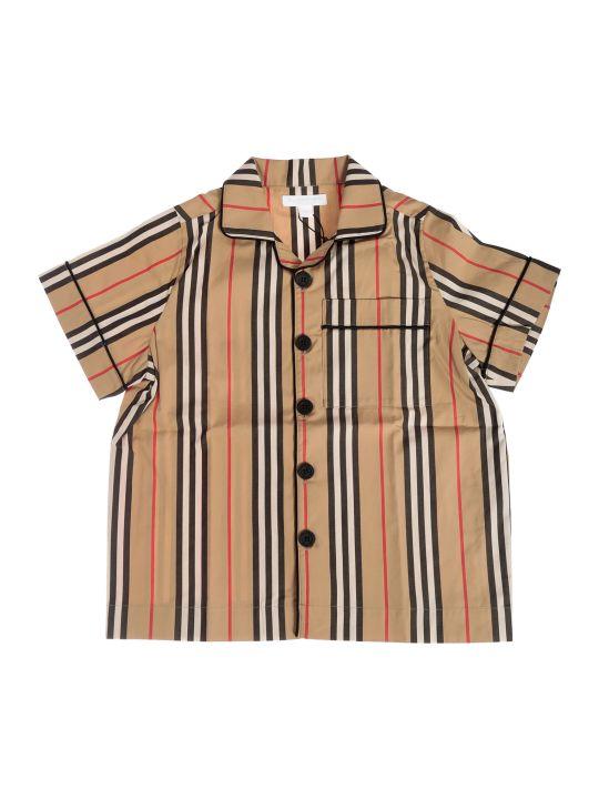 Burberry Striped Print Shirt