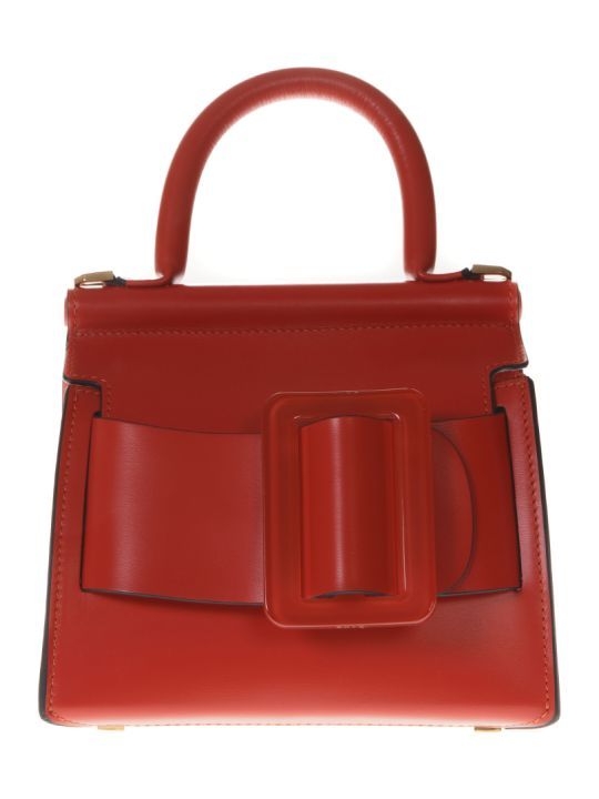 BOYY Karl 19 Flame Color Leather Hand Bag