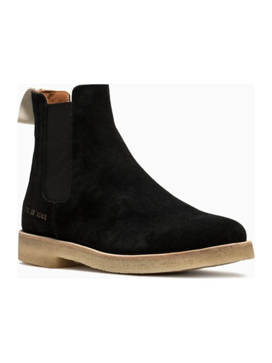 Common Projects Suede Chelsea Boots 3870