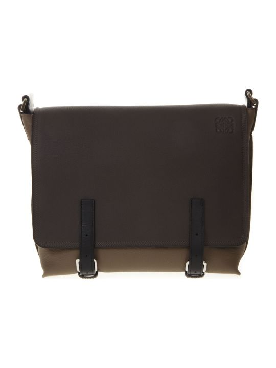 Loewe Brown Leather Man Bag