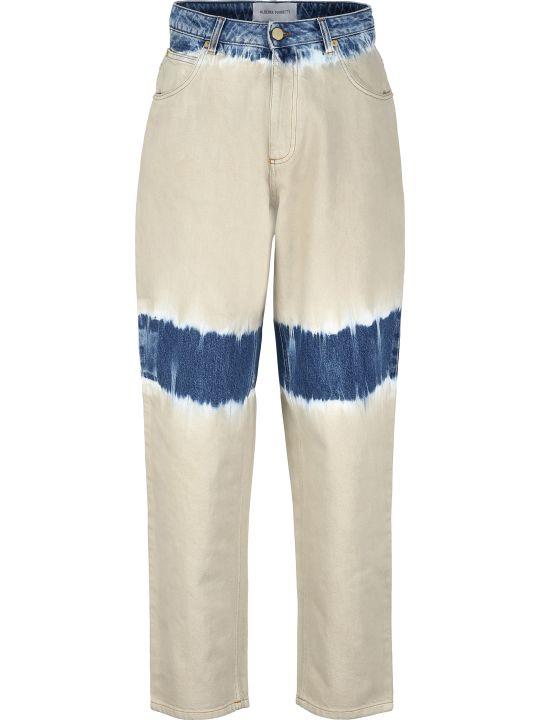 Alberta Ferretti Tie-dye Jeans