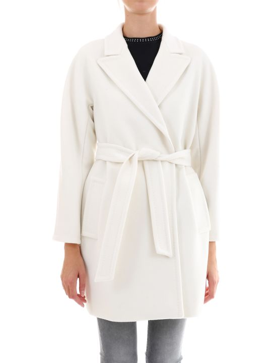 Max Mara Raoul Coat In Cashmere/wool